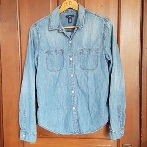 SALE!💥Gap Long Sleeve Chambray Shirt